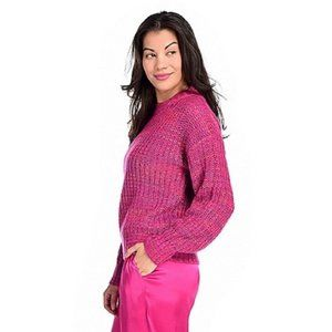 Band of Gypsies Sweaters - Band of Gypsies Marled Knit Drop Shoulder Sweater